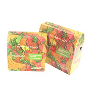Fruit gift packaging with rope
