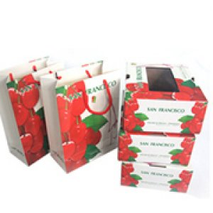 Fruit and vegetables packaging box