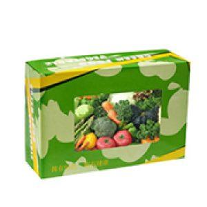 Environmental Green Food Cardboard Box